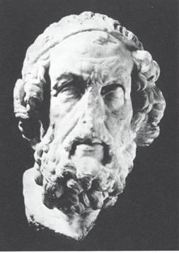 Ritratto di Omero maltrattato dal tempo e... dagli uomini (Museo di Belle Arti - Boston)